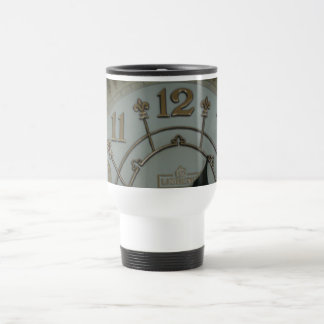 Tick Tock Stainless Steel Travel Mug