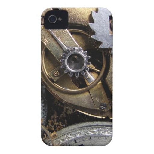 Tick Tock - steampunk blackberry Case