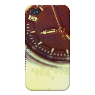 Tick Tock Watch Face iPhone 4/4S Cover