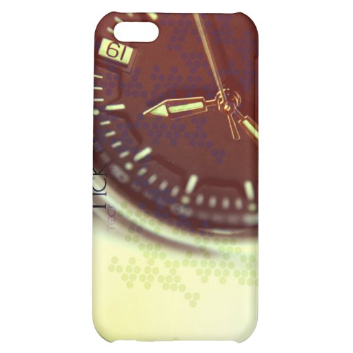 Tick Tock Watch Face Cover For iPhone 5C