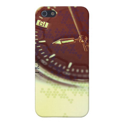 Tick Tock Watch Face iPhone 5 Covers