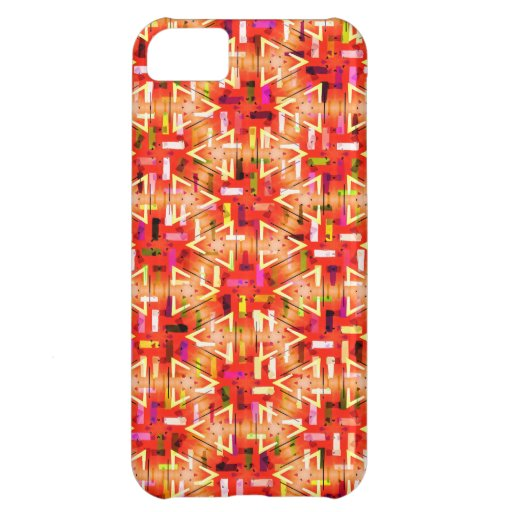 Ticker Tape Parade Midcentury Modern Abstract Case For iPhone 5C