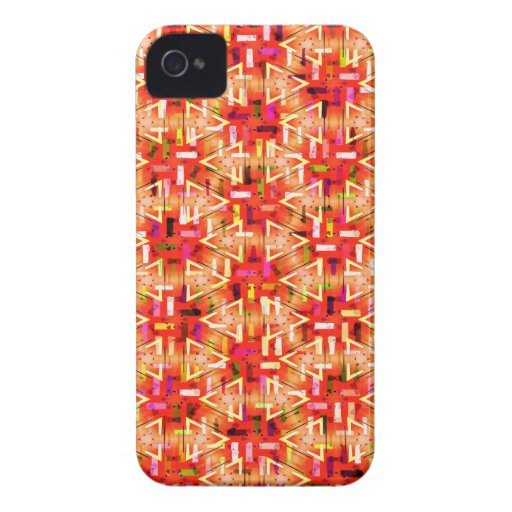 Ticker Tape Parade Midcentury Modern Abstract Case-Mate iPhone 4 Case