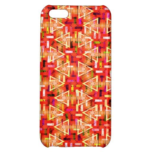 Ticker Tape Parade Midcentury Modern Abstract Cover For iPhone 5C