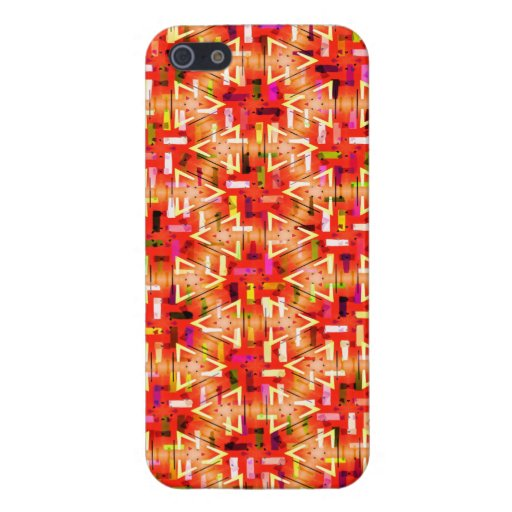 Ticker Tape Parade Midcentury Modern Abstract iPhone 5 Case
