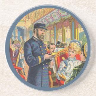 Ticket Please Train Coaster
