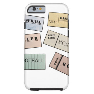 Ticket Stubs Tough iPhone 6 Case