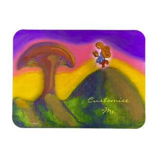 Ticket to a Fantasy World Rectangular Photo Magnet