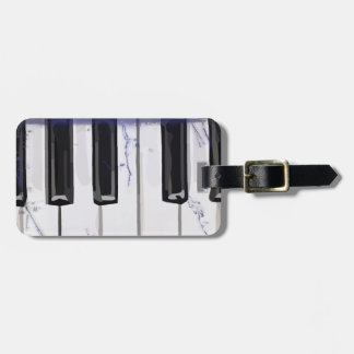 Tickle The Ivory Piano Luggage Tag