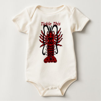 Tickle This Lobster Baby Bodysuit