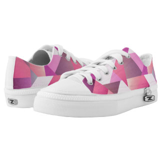 Tickled Pink Lace-Up Shoes Sneakers