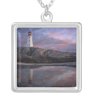 Tide Pool by Lighthouse Silver Plated Necklace