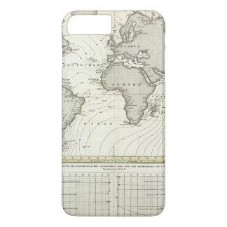 Tide-wave Atlas Map iPhone 8 Plus/7 Plus Case