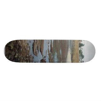 Tidepools Ocean Beach Cliffs Skate Board Deck