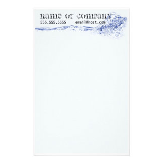 Tides - Letterhead  Stationary Stationery Paper