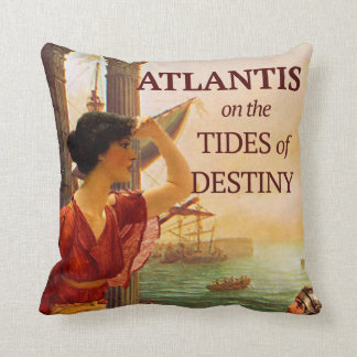 Tides of Destiny Throw Pillow