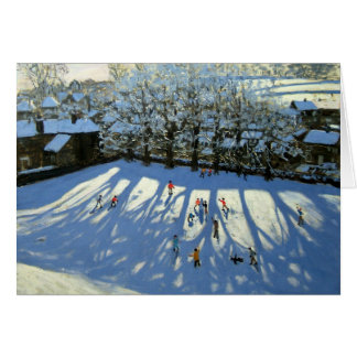 Tideswell Derbyshire Greeting Card