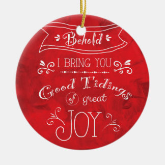 Tidings of Joy by Jan Marvin Christmas Ornament