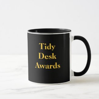 Tidy Desk Awards Cruel Funny CoWorker Joke