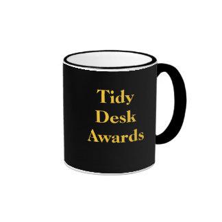 Tidy Desk Awards - Where did YOU come? Ringer Mug