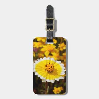 Tidy Tip Wildflowers Luggage Tag
