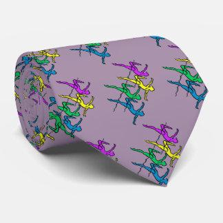 Tie #1 Fan-bright colors lavender