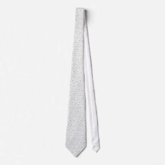 Tie - AJS Popper - White
