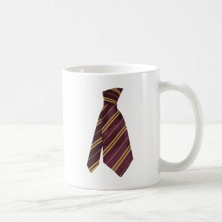 tie basic white mug