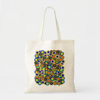 tie_die marbles 60's style Psychedelic Bag