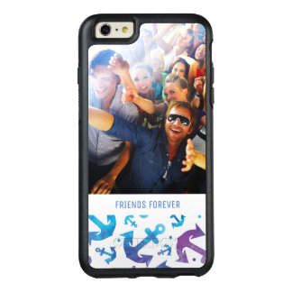 Tie Dye Anchor Pattern | Your Photo & Text OtterBox iPhone 6/6s Plus Case