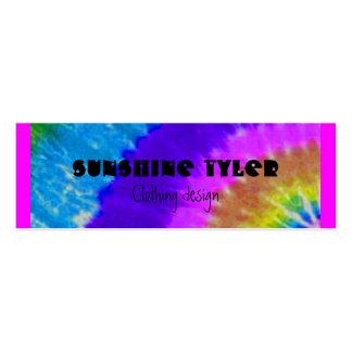 tie-dye business cards