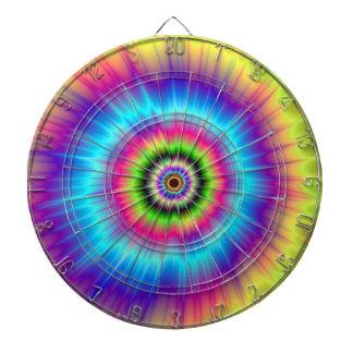 Tie-dye Color Explosion Dartboard