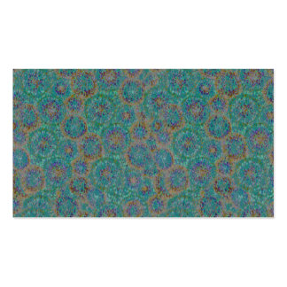 Tie Dye Colors Microscopic Cell Background Business Card