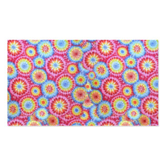 Tie Dye Colors Microscopic Cell Background Pack Of Standard Business Cards