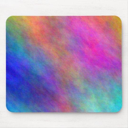 Tie Dye Colours Gas Cloud Mouse Pad