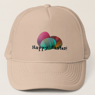 Tie Dye Easter Eggs Trucker Hat