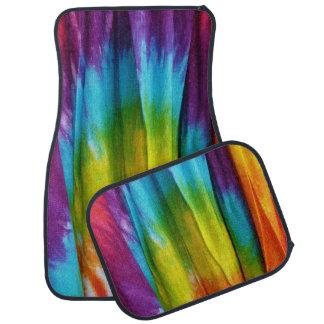 Tie-Dye Fabric Print Car Mat