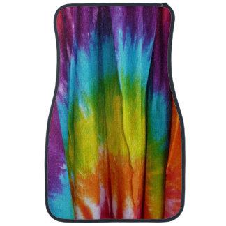 Tie-Dye Fabric Print Floor Mat