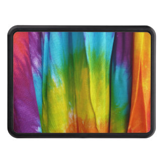 Tie-Dye Fabric Print Tow Hitch Cover