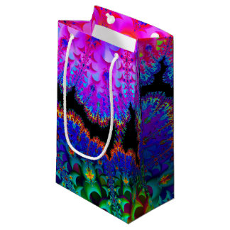 Tie Dye Fractal Small Gift Bag