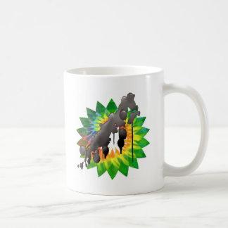Tie dye Gulf oil spill bp oil Mug