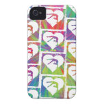 Tie Dye Gymnastics Pattern iPhone 4 Cover