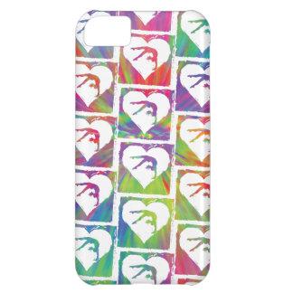 Tie Dye Gymnastics Pattern iPhone 5C Case