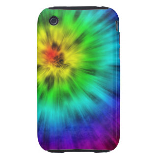 Tie Dye iPhone 3 Tough Covers
