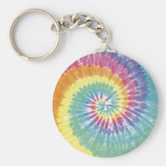 Tie-Dye Key Ring
