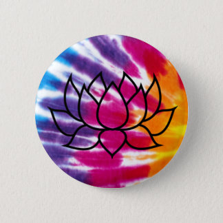 Tie-Dye Lotus Badge