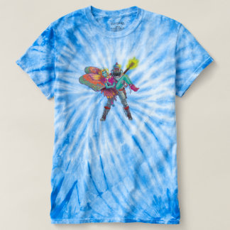 Tie-Dye Meets Science Fiction Pop T-Shirt