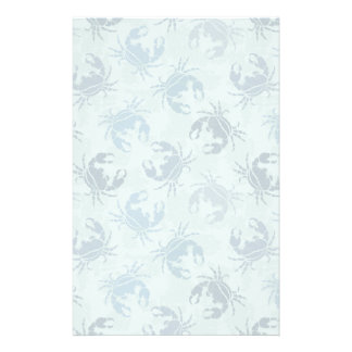 Tie Dye Pattern Of Crabs Customised Stationery