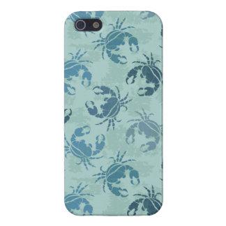 Tie Dye Pattern Of Crabs iPhone 5/5S Case