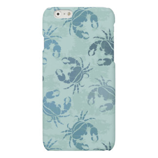 Tie Dye Pattern Of Crabs iPhone 6 Plus Case